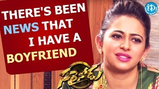 There's Been News that I Have a Boyfriend - Rakul Preet || Sarrainodu || Talking Movies with iDream