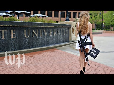 'I have no apologies': Kent State graduate explains why she posed with AR-10