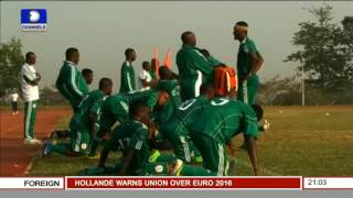 Sports Tonight: Stephen Keshi Receives More Tributes From FIFA, Others PT 1
