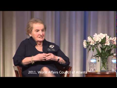 """September 7, 2011 Madeleine K. Albright -""""Read My Pins: Stories from a Diplomat's Jewel Box"""""""