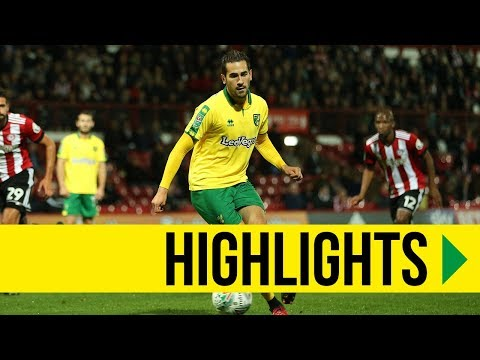 CARABAO CUP HIGHLIGHTS: Brentford 1-3 Norwich City