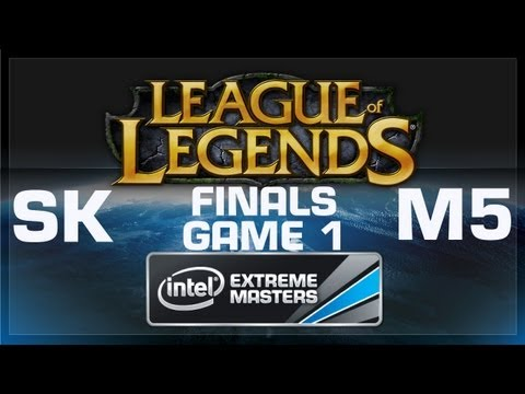 LoL Gamescom - FINALS: SK Gaming vs Moscow 5 Game 1 - European Regional