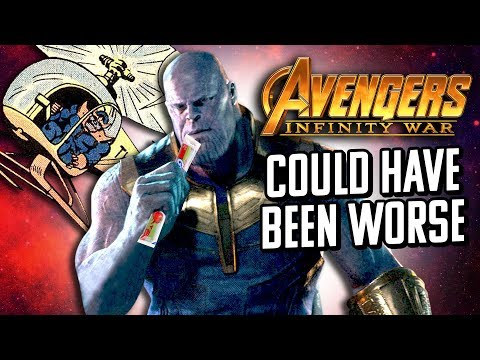 Avengers: Infinity War Could Have Been Worse
