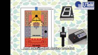 MY129 - i-Sajadah : Prayer Rug with Smart Raka'ah Notification Device