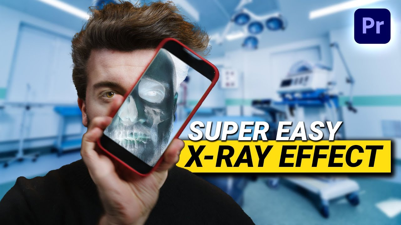 How to Create an X-RAY EFFECT (Premiere Pro Tutorial)