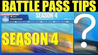 Fortnite Season 4 Battlepass Tips & Tricks (Save V-bucks & Money On Item Shop)