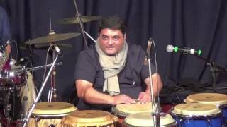 Nitin Shankar Conga solo at Ustad Taufiq Quresji's Guru Pournima