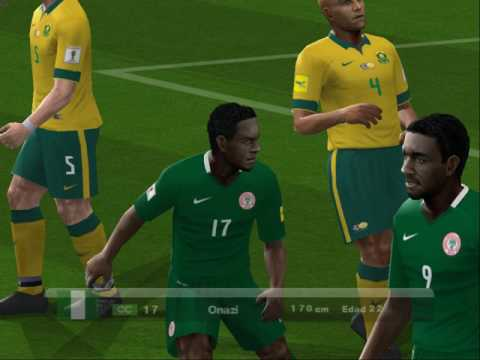 PES 2017 (PS2) Nigeria vs South Africa  - Africa Cup of Nations