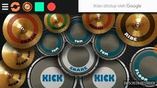 Ungu - Ijinkan Aku ( Drum cover *Newbie) 😂