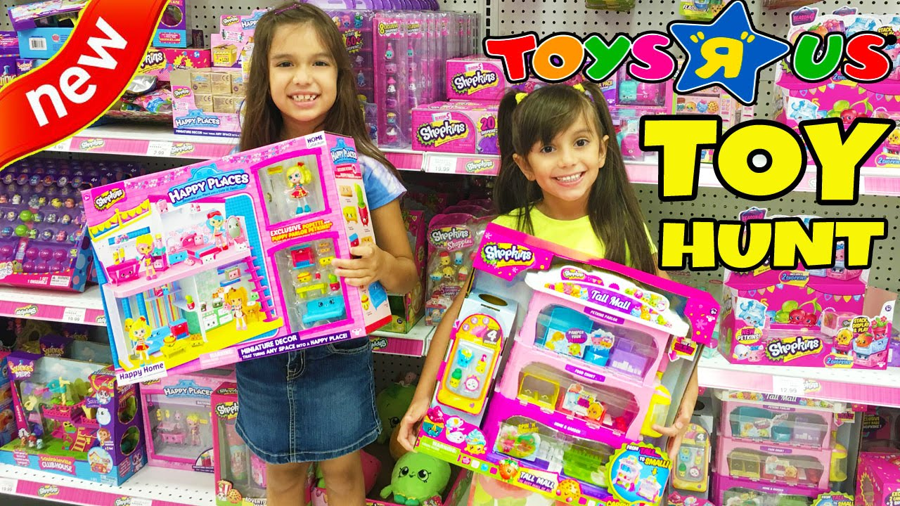 Toy Hunt At Toys R Us New Toys Shopkins Happy Places