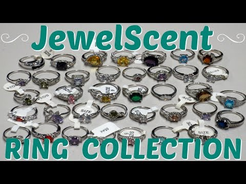 JewelScent Ring Collection Part 2 - 37 Rings!