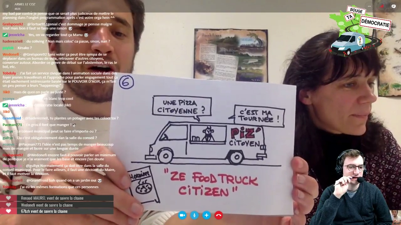 Le food-truck citoyen : Bouge ta démocratie !