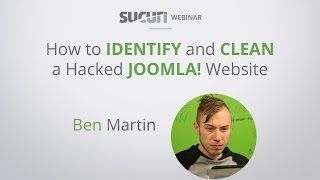 Sucuri Webinar: How to Identify and Clean a Hacked Joomla Website(, 2016-12-06T17:12:24.000Z)