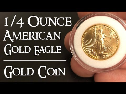 1/4 Ounce American Gold Eagle - Gold Coin Stacking