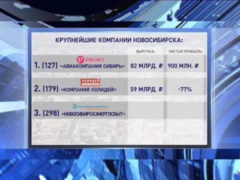 Крупнейшие компании Новосибирска