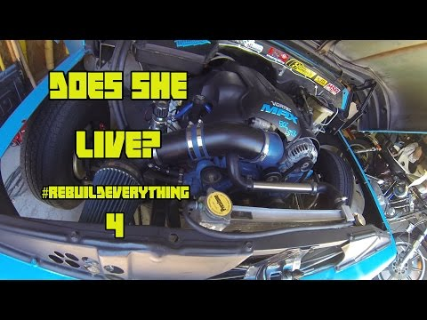 Fuel System  Test & Fire - #REBUILDEVERYTHING 04