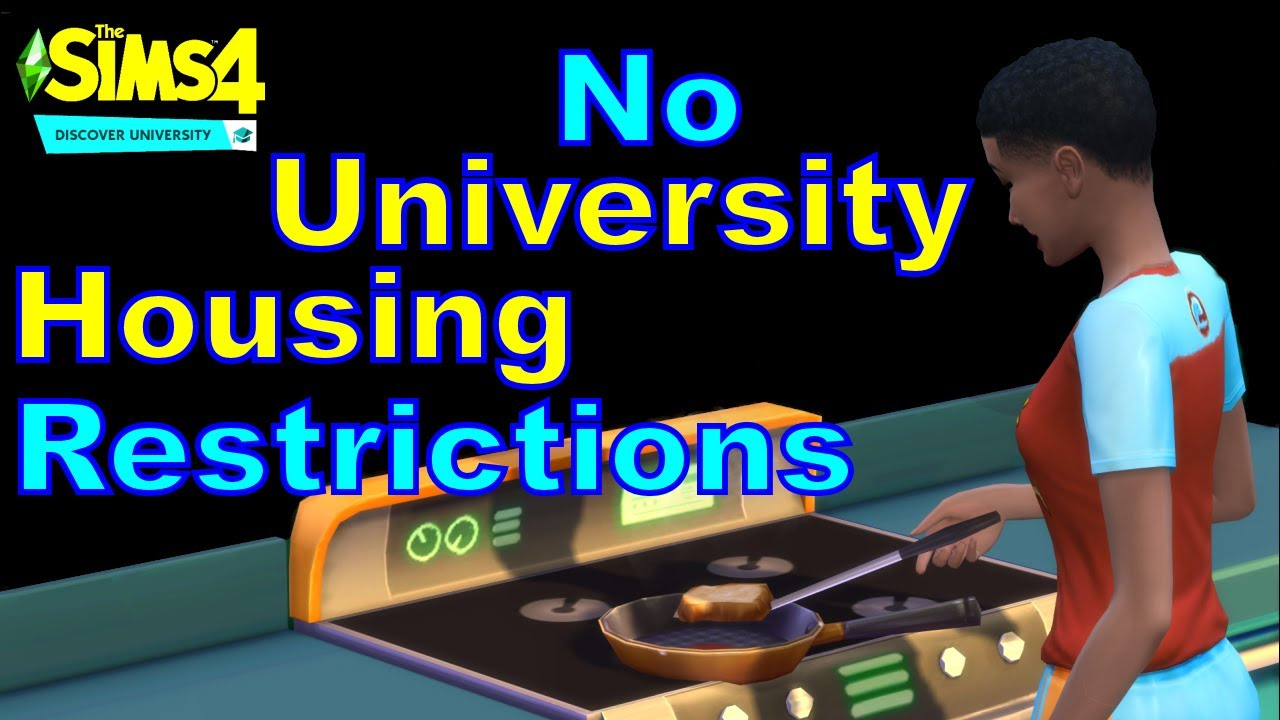 How to Remove the University Housing Restrictions YouTube