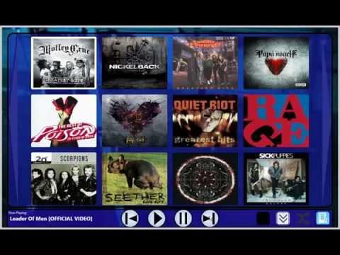 Music Video Jukebox (MVJ) Beta Software Demo Video