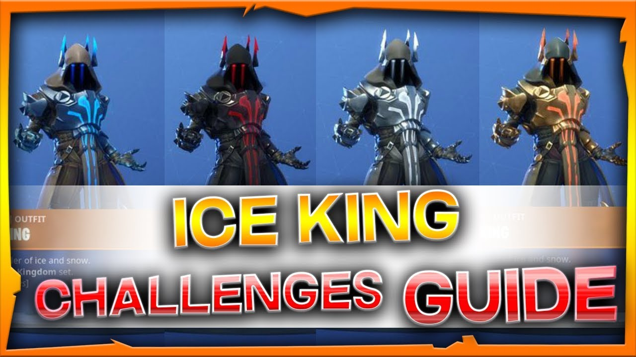 Fortnite Ice King Challenges Guide Season 7 Youtube
