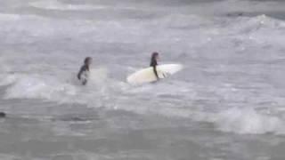 Surfing in Sai Kung, HK