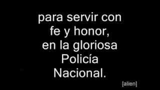 Himno De La Policia Nacional De Peru Letra