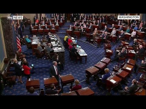 U.S. senate vote on Brett Kavanaugh's nomination to the Supreme Court