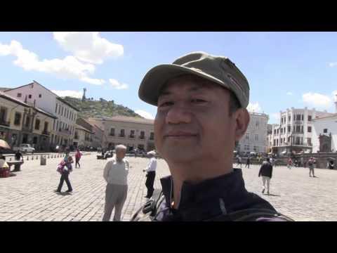 Quito Ecuador Old Town