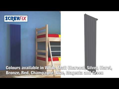Screwfix - Morreti Watersmith Modena Single Panel Designer Radiator