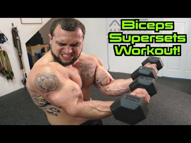 Bigger Biceps Workout   Supersets for Size!