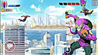 Spider man ultimate power Spider Man vs Green Goblin Boss Fight Gameplay