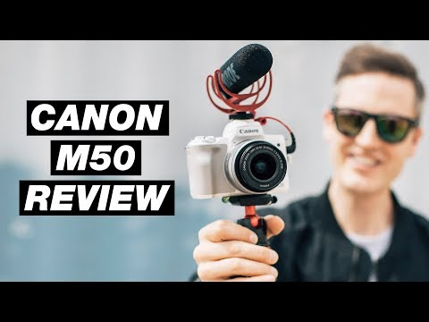 Best Vlogging Camera 2018 - Canon M50 Review