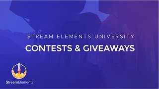 StreamElements Contests & Giveaways thumbnail