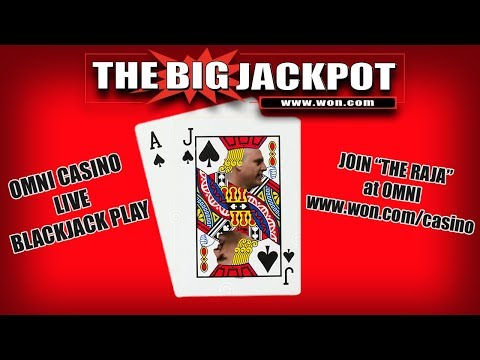 Live Black Jack at Omni casino