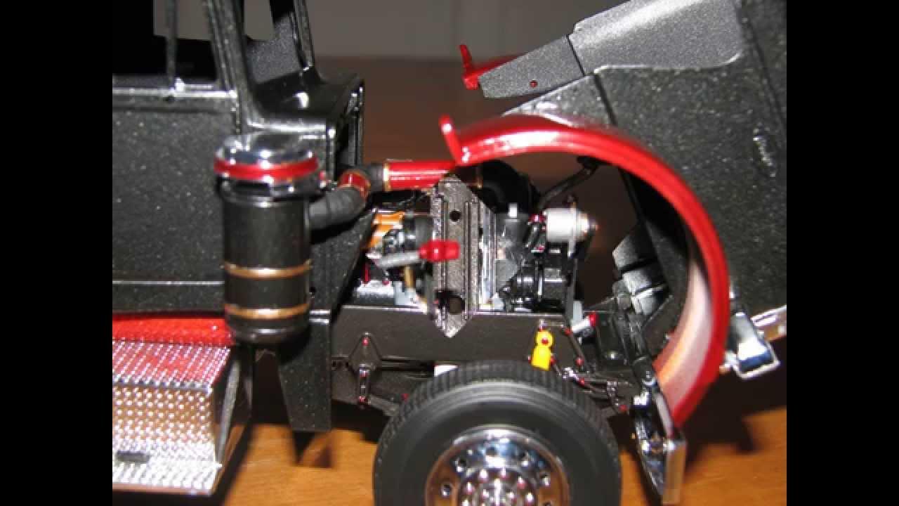 revell model peterbilt 359 build