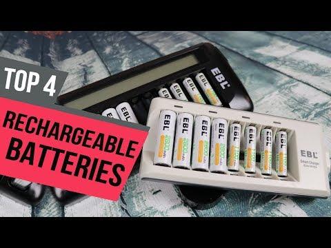 4 Best Rechargeable Batteries 2019 Reviews