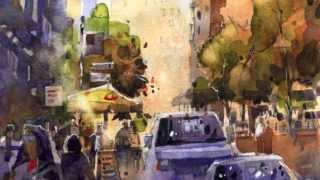 Iain Stewart Watercolor Artist Demo