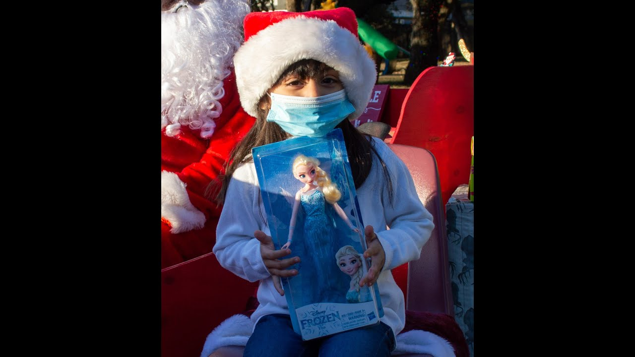 Video Highlights of Sleigh Stop Toy Giveaway