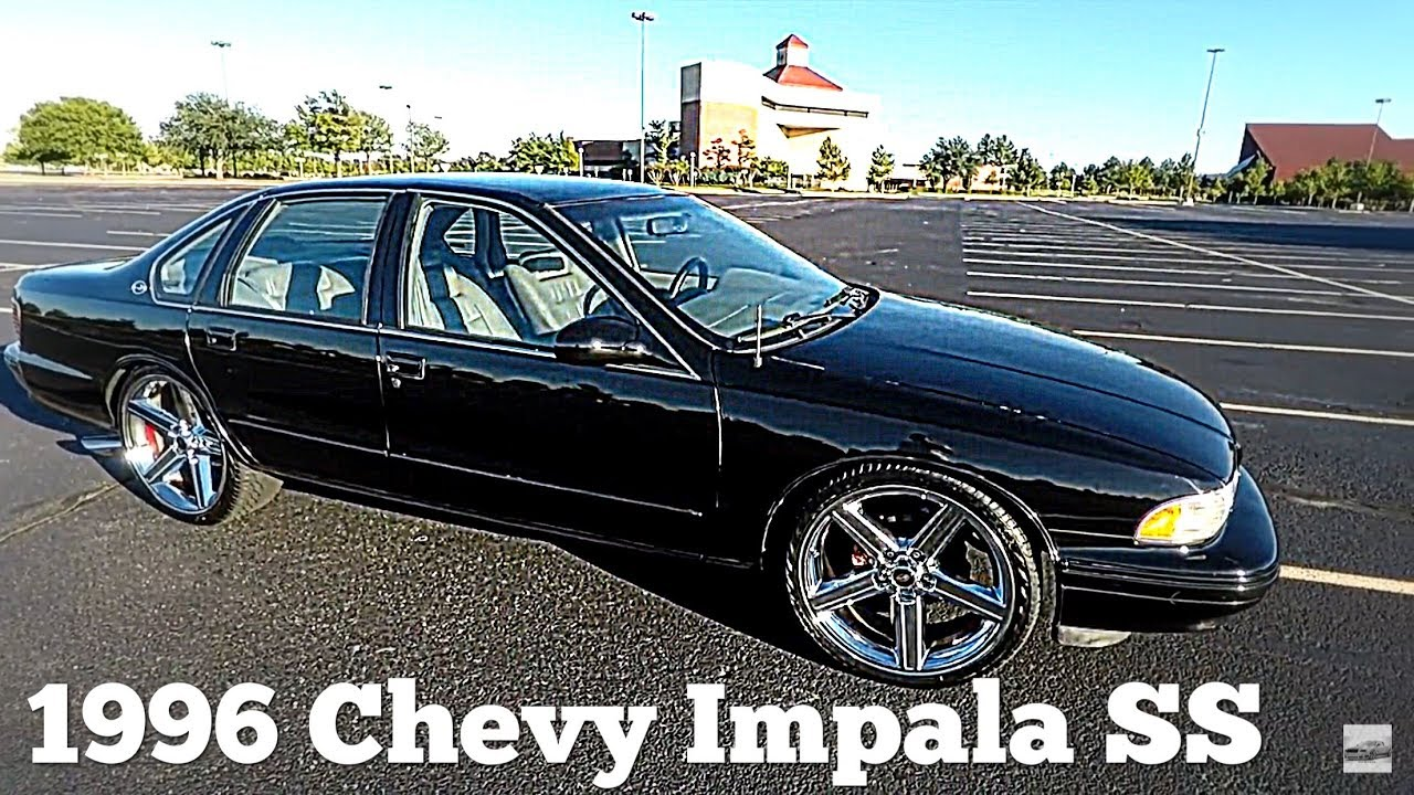Impala 1996 chevy impala ss : 1996 Chevy Impala SS On 22's Irocs Walk N Drive Around - YouTube