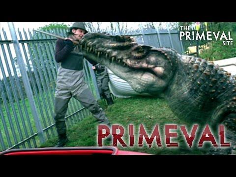 Primeval: Series 1  Episode 3  Connor Temple vs a Mosasaur 2007