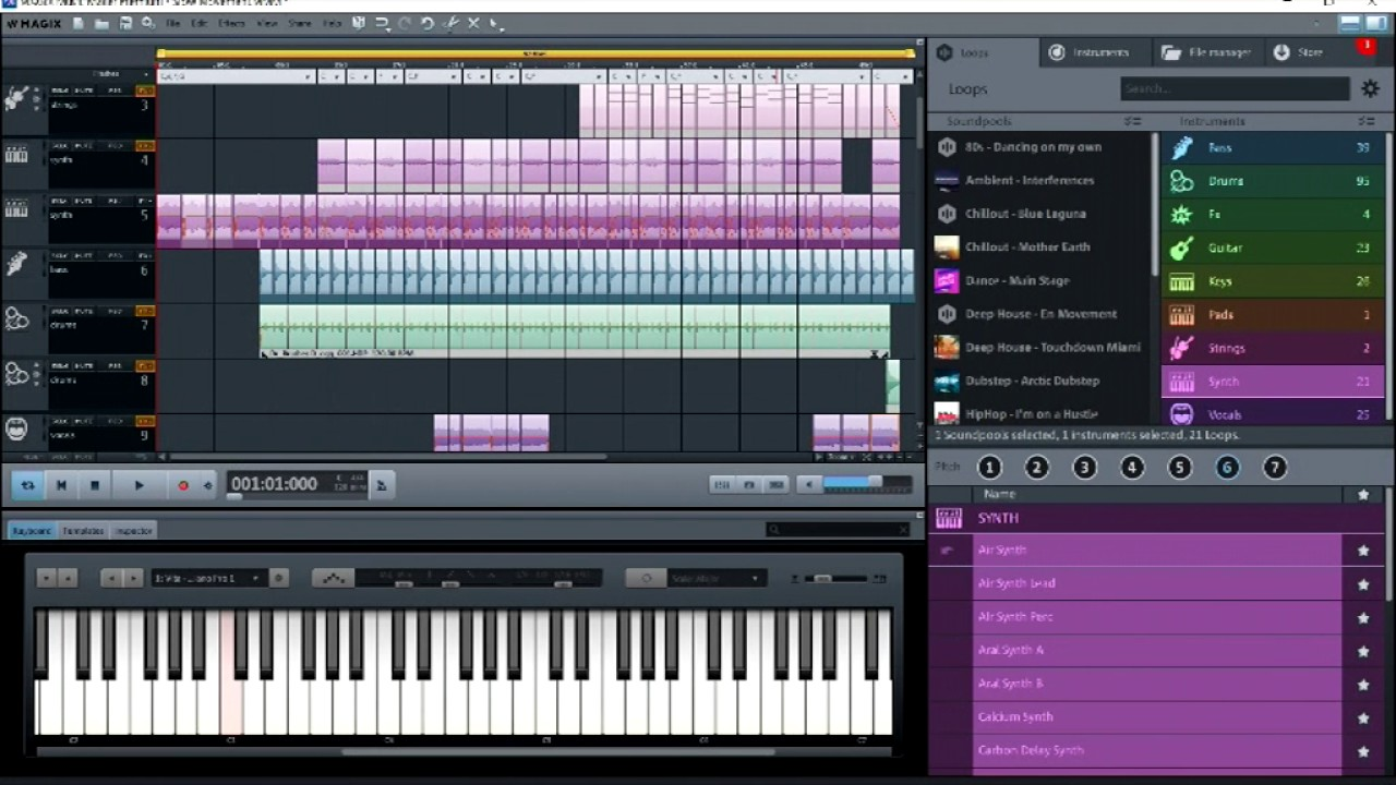 Background image maker - Magix Music Maker 2017 Gentle Background Music