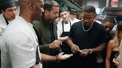 David Blaine Predicts Cards for Jamie Foxx - David Blaine: The Magic Way