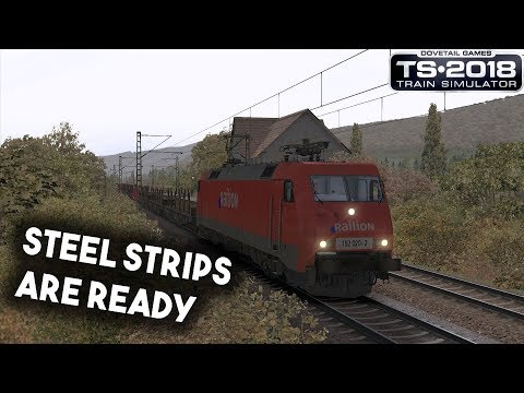 Train Simulator 2018: vR BR152: Steel strips are ready!