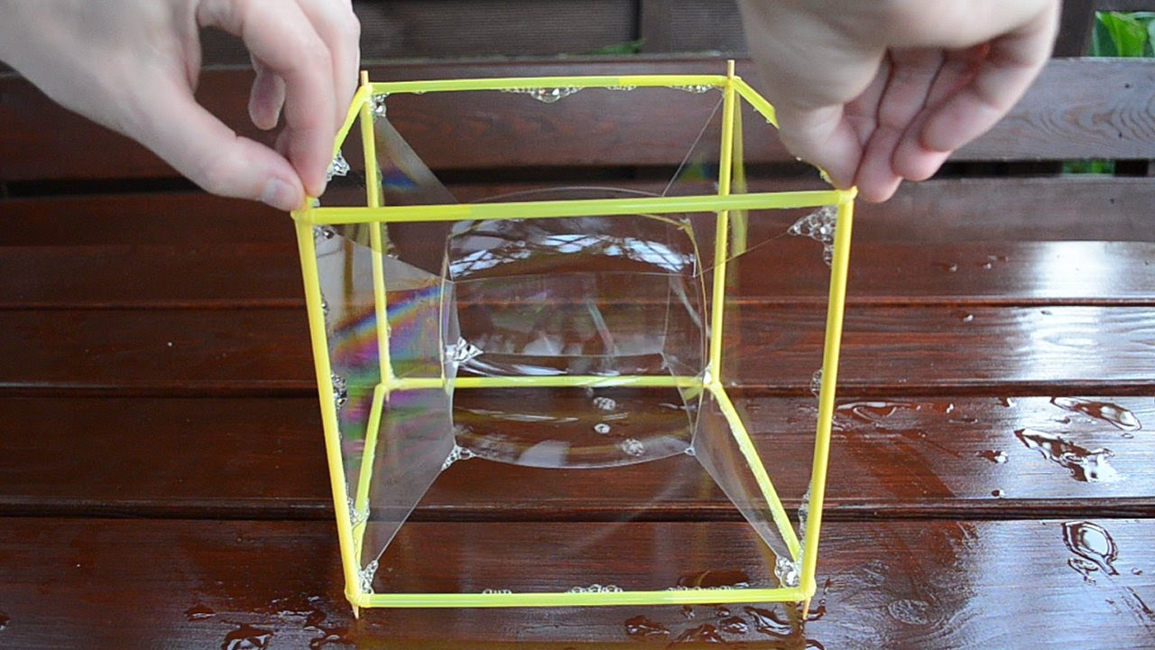 Amazing Cube Amazing Cube Bubble  Square Bubble Experiment  Youtube
