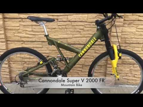 c4c55e50554 Cannondale Super V 2000 FR Mountain Bike - YouTube