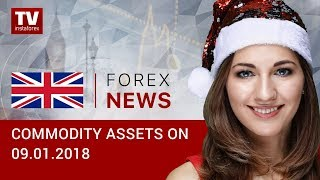 InstaForex tv news: 09.01.2019: Oil continues its rally