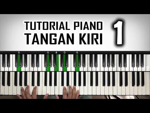 Tutorial Piano Tangan Kiri | Arpeggio C add9 | Belajar Piano Keyboard