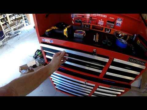 Craftsman Tool Chest, Wilton Vice And Delta Grinder