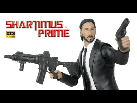 John Wick Movie Diamond Select Toys 7 Inch Scale 4K Action Figure Review