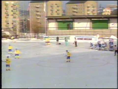 Bandy - World Championships, Sweden 1987