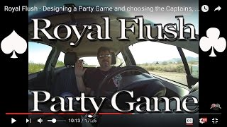 Royal Flush - Designing a Party Game and choosing the Captains, Gila Bend to Buckeye, AZ GP030150